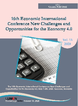 Oferta de 16TH Economic international conference NCOE 4.0 2020 - Carmen NASTASE [editor] Editura Științifică Lumen Conference Proceedings Libraria Virtuala LUMEN