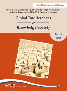 Oferta de Global Interferences of Knowledge Society - Maria NEGREPONTI DELIVANIS [editor] Editura Științifică Lumen Conference Proceedings Libraria Virtuala LUMEN