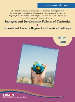 Oferta de Strategies and Development Policies of Territories International, Country, Region, City, Location Challenges - Carmen NASTASE [editor] Editura Științifică Lumen Conference Proceedings Libraria Virtuala LUMEN