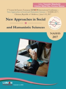 Oferta de New Approaches in Social and Humanistic Sciences. NASHS 2017 - Veaceslav MANOLACHI, Cristian Mihail RUS, Svetlana RUSNAC [editori] Editura Științifică Lumen Conference Proceedings Libraria Virtuala LUMEN