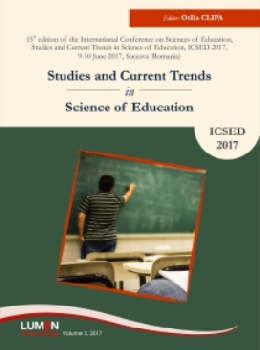 Oferta de Studies and Current Trends in Science of Education, ICSED 2017 - Otilia CLIPA [editor] Editura Științifică Lumen Conference Proceedings Libraria Virtuala LUMEN